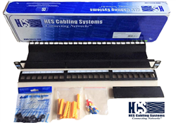 HCS 24 Port Cat6 Modüler Patch Panel