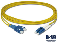 HCS 2 mt 9/125 SC-SC ve SC-LC Doublex S.M Fiber Optik Patch Cord