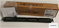 Commscope 24 port Cat6 UTP Modüler Patch Panel