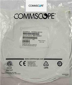 Commscope Cat6 UTP 3 mt Patch Cord Beyaz