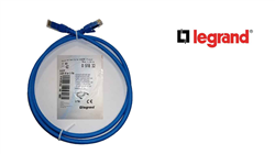 Legrand Cat6 UTP 1mt Patch Cord
